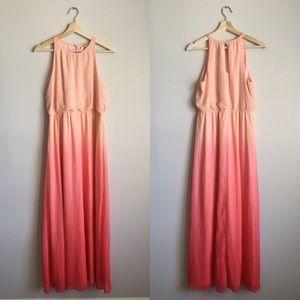 LC Lauren Conrad | Pink Ombré Maxi Dress
